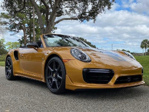 Thumbnail Porsche 911 Turbo S Exclusive Series Cabriolet