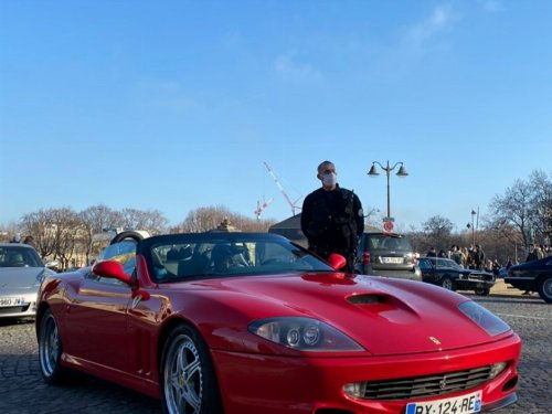 Thumbnail Ferrari 550 Barchetta