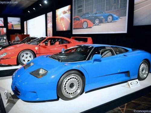 Thumbnail Bugatti EB110